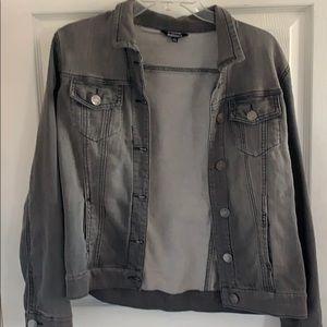 Grey soft Jean style jacket